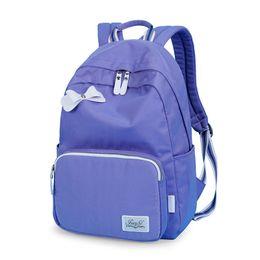 $enCountryForm.capitalKeyWord UK - Waterproof Polyester Minimalist Women Backpack Travel Simple School Bag for Teenagers Girls Bookbag laptop backpack Mochila