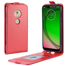 новая игра  оптовых-Crazy Horse Flip Кожаные чехлы для Motorola Moto G7 Play Power Google Pixel A XL Huawei Nova e P30 Lite ID Card Photo Phone Cover шт