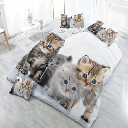 Black White Rose Bedding Australia - Quality Classic Bedding Set 3D Printed Wolf Oil Printing Bed Clothes Comforter Cover Bed Sheet Sets Pillowcase