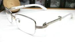 frames for rimless glasses 2019 - fashion classic retro style sunglasses for men women brand designer glass lens buffalo horn sun glasses wood There is no