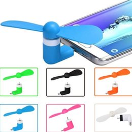 $enCountryForm.capitalKeyWord Australia - DHL 100pcs lot Portable Mini Micro USB Mobile Phone Fan For Samsung XIAOMI