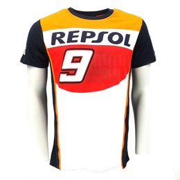 Discount motorcycle repsol - Moto GP T-Shirt REPSOL Motorcycle Motorbike Riding Racing T-Shirt Summer T