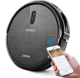 $enCountryForm.capitalKeyWord Australia - New Fashion Original ECOVACS DEEBOT N79 Robotic Vacuum Cleaner Strong Suction for Low-pile Carpet Hard floor Wi-Fi Connected On Sale
