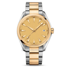 $enCountryForm.capitalKeyWord UK - Mens Watches Montre De Luxe Luxury Watch Japan automatic watch Gold 316L Stainless Steel Case Bracelet 150M Waterproof Reloj De Lujo