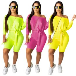 $enCountryForm.capitalKeyWord UK - Women Rompers Party Overalls Slim Night Club Short Pants Skinny Tights Knee Length Sexy Bodycon Capris Sashes Jumpsuit Hot Selling 1050