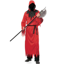 $enCountryForm.capitalKeyWord Australia - Mens Devil Lord Red Costume Halloween Fancy Zombie Clothes Party Outfit Adult Hell Costumes