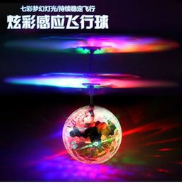 Wholesale Induction Small Feixian Crystal Ball Induction Aircraft Remote Control Aircraft Drop-Resistant Induction Suspension Ball Charging Childrens
