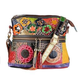 $enCountryForm.capitalKeyWord Australia - 2019 brand fashion luxury designer woman bags National style Genuine Leather Color stitching designer handbags New hot buy