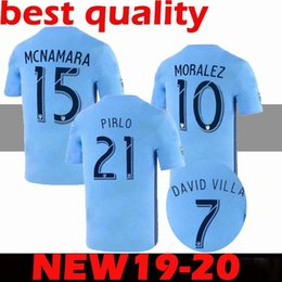 597b323d5 S-2XL 2019 2020 MLS New York City Soccer Jerseys 19 20 MATARRITA MORALEZ  PIRLO DAVID VILLA football shirts