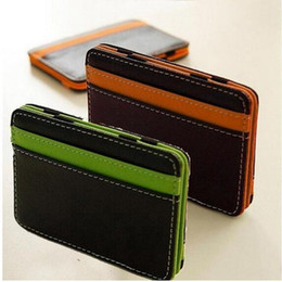Case Cover purse Card wallet online shopping - Leather Wallet Holder Bill Fold Credit Bags ID Card Cover Case Girls Small Pocket Men Women Wallet