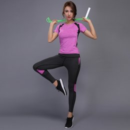 cdbe8c1d0ef3d Jogging Suits Women Plus Size Australia - Women Yoga Set Gym Fitness Clothes  Tennis Shirt+