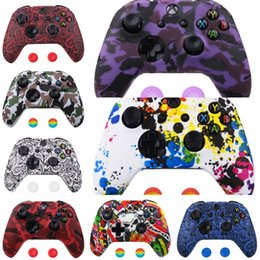 wireless controller shells Australia - lpV7S Wireless Controller Shell Case Bumper Thumbsticks Buttons Xbox for Digital 360 Game In Stock