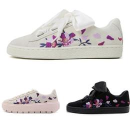 $enCountryForm.capitalKeyWord NZ - Hot 2. Sale Rihanna Fenty Suede Creepers Women Casual Shoes Sneakers Size 36-39