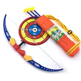 $enCountryForm.capitalKeyWord UK - Children's toys 54 cm large soft suction cup shooting bow and arrow toy set outdoor sports bow and arrow welcome to order