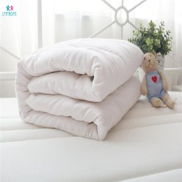 $enCountryForm.capitalKeyWord Australia - Cotton Baby Duvet Quilt Filling Soft Breathable Warm Thickened Quilt Core Wool Down Fabric Filling Autumn and Winter Bedding Set