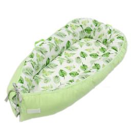 $enCountryForm.capitalKeyWord NZ - High Quality Baby Nest Bed Portable Newborn Travel Bed Infants Milk Sickness Bionic with Bumper Crib for Baby Sleeping