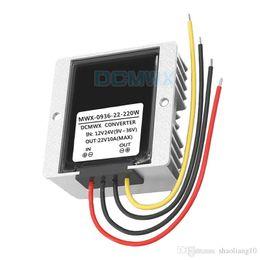 $enCountryForm.capitalKeyWord Australia - DCMWX® Regulated Voltage Converters 12V24V to 22V automatic boost buck car power inverters Input DC9V-36V Output 22V1A3A5A8A9A10A waterproof