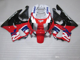 honda cbr fairings for sale Australia - ZXMOTOR Hot sale fairings for Honda CBR900RR CBR 893 1995 1997 black white red fairing kit CBR893 95 97 HF33