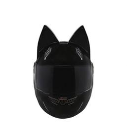 $enCountryForm.capitalKeyWord UK - NTS-003 NITRINOS Brand motorcycle helmet full face with cat ears Personality Cat Helmet Fashion Motorbike Helmet size M  L XL  XXL