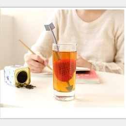 Life Gel Australia - Love Archery Tea Infuser Silica Gel Teas Strainer Creative Home Life Supplies Red Hot Sales Adult Factory Direct 2qmC1