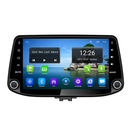 hd radio tuner for car UK - Android 4G LTE HD 1080P car MP3 Music Resolution HD display Resolution 1024 * 600 USB for Hyundai i30 2017-2019 8inch