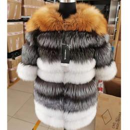 Wholesale ship real fur jackets for sale - Group buy Real fur coat long natural fur jacket Women winter warm High quality vest