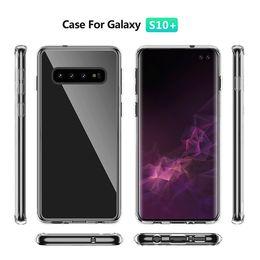 Iphone 5g Tpu Australia - Shockproof Case For Iphone XR XS MAX X 10 8 7 6 Samsung S10 5G S10e S10+ Note 9 S9 S8 LG G8 Hard PC+Soft TPU Bumper Crystal Gel Cover Luxury
