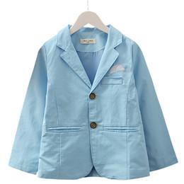 $enCountryForm.capitalKeyWord Australia - Handsome Gentleman Boys Coats Spring Autumn Kids Jackets for Boys 2019 New Toddler Teens Children Outerwear Top Clothing