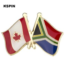 Badges Metal Badge Australia Friendship Flag Label Pin Badges Icon Bag Decoration Buttons Brooch For Clothes Strong Packing Home & Garden