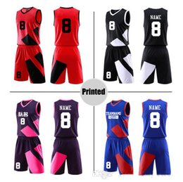 Wholesale Free design Jersey custom New basketball wear DIY custom printing number of Chinese pattern