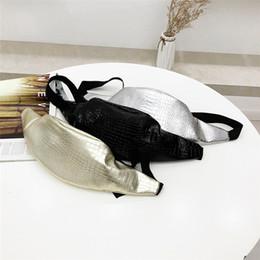 $enCountryForm.capitalKeyWord Australia - Women Waist Bag Fashion Crocodile Pattern Leather Messenger Shoulder Chest Bag sac banane femme fanny packs heuptas dames