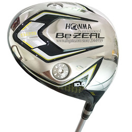 New Men Golf Clubs HONMA BEZEAL 525 driver 10.5 loft Golf driver Clubs Graphite shaft R Golf shaft and headcover Free shipping on Sale