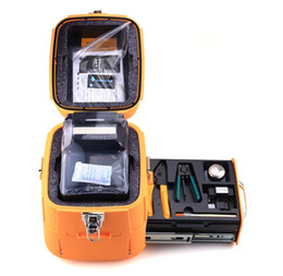 splicer machine Australia - signalfire SM&MM Automatic FTTH Fiber Optic Welding Splicing Machine Optical Fiber Fusion Splicer AI-8
