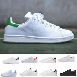Stan Smith gold ShoeS online shopping - Classic Designer stan shoes fashion smith Brand Top quality mens womens Trainers casual leather sports sneakers running shoes Chaussures