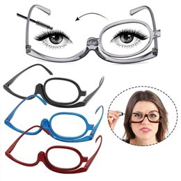 06b92dea928 General Magnifying Glasses Makeup Reading Glass Folding Eyeglasses Cosmetics  +1.0~+4.0