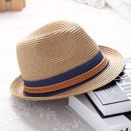 $enCountryForm.capitalKeyWord Australia - 2019 Summer woman sun hat Korean version of the color matching Jazz straw hat Beach holiday travel fashion Femme Cap beanies