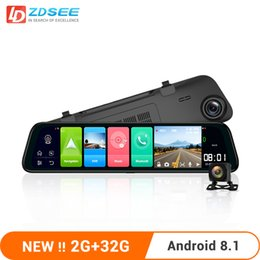 32g drives NZ - LDZDSEE Android 8.1 2G+32G Car Rearview dvr Mirror ADAS FHD 1080P with camera 10'' IPS Drive Video Auto Recorder Night Vision