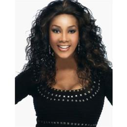 $enCountryForm.capitalKeyWord UK - Ma'am Extra Long Curly Hair Corn Burn Support African American Synthetic Cosplay Wigs Fancy Dress Kanekalon Short Blonde Wig