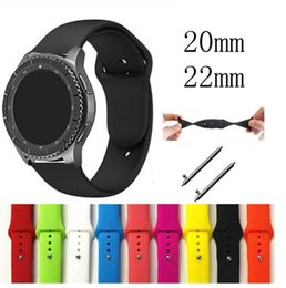 $enCountryForm.capitalKeyWord Australia - 22mm 20 band for samsung Gear sport s3 s2 classic Frontier galaxy watch Active 46mm 42mm strap for huami amazfit huawei gt 2 Silicone Band