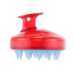 Hot Spa Dimagrante Massaggio Capelli Shampoo Spazzola Silicone Testa Corpo Scalp Massage Pettine Doccia Bath Brush Puntelli Pettine per capelli