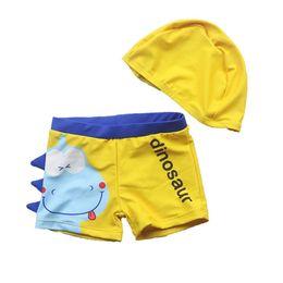 cb18c9f03f8bb Kids Dinosaur Rashguard Toddler Cartoon Beach Swim Surfing Shorts Baby Boy  Sports Trunks Swimwear Children Swimsuit Bathing Suit