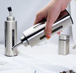 $enCountryForm.capitalKeyWord NZ - Wholesale custom European kitchen tools 225ml olive oil pot 304 stainless steel oil pot with sealing cap oil leak
