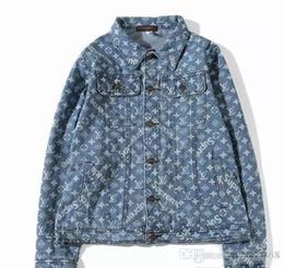 Justin Bieber Fashion Coating Australia - Men Best Quality Justin Bieber Fear Of God Denim Jackets women Vintage Style Selvedge Jean Coats Clothing