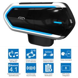 Motorfiets Helm Draadloze Bluetooth Headsets Riding Handsfree FM Radio Stereo MP3 Easy Operation Waterdichte Langestand