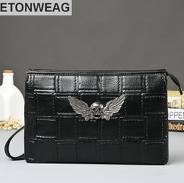 $enCountryForm.capitalKeyWord NZ - wholesale brand men package new elements Eagle hawk mens handbag personality cross men's single shoulder bag fashion leather men hand b
