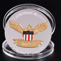 $enCountryForm.capitalKeyWord Australia - 2020 Donald Trump Eagle Coin American 45th President Commemorative Coins Make America Great Again Metal Badge Craft