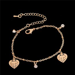 anklet women Australia - H:HYDE new 13 style ankle bracelet foot jewelry pulseras tobilleras heart simple anklets for women girl gift chaine cheville