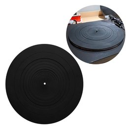 rubber player NZ - 1 Pc Anti-vibration Silicone Pad Rubber LP Antislip Mat for Phonograph Turntable Vinyl Record Players Accessories