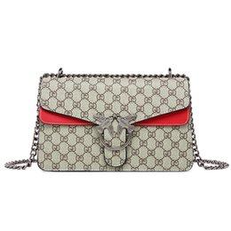Chinese  Luxury Designer Crossbody Bags Fashion Brand Printing Shoulder Bag Women Messenger Bag Chain Handbags Ladies Totes Purses manufacturers