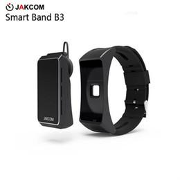 Video Call Phones Australia - JAKCOM B3 Smart Watch Hot Sale in Smart Wristbands like phone mobile 1208 watch xx mp3 video